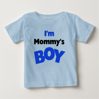 Mommy's Boy Baby T-Shirt