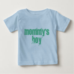 Mommy's Boy Baby T-Shirt