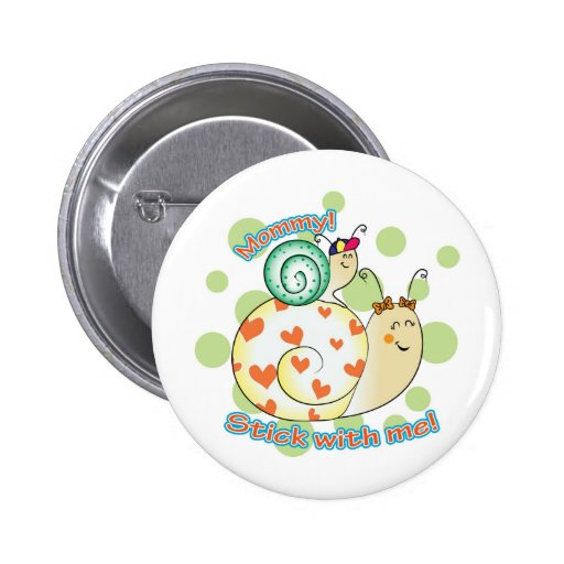 Mommy's Boy! Pinback Buttons