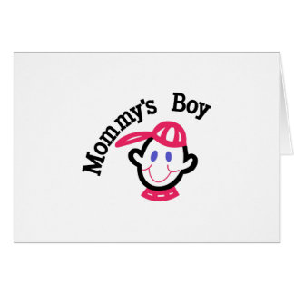 Mommys Boy Card