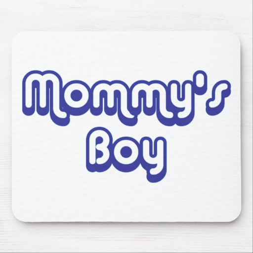 Mommy's Boy Mouse Mat