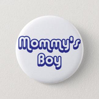 Mommy's Boy Pinback Button