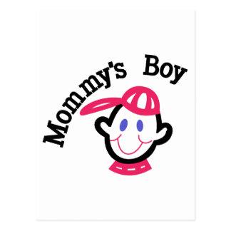 Mommys Boy Postcard