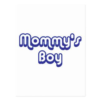 Mommy's Boy Postcard