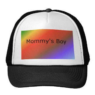 Mommy's Boy shirts Trucker Hat