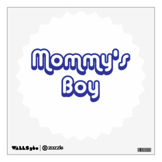 Mommy's Boy Wall Decal