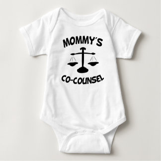Mommy's Co-Counsel Baby Bodysuit