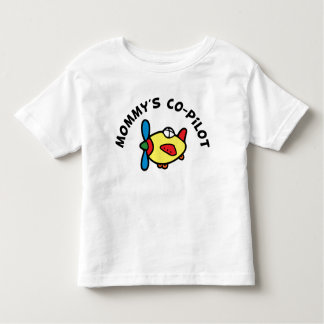 Mommy's Co-pilot Toddler T-shirt