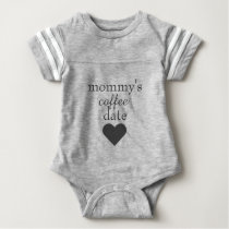 Mommy's Coffee Date Baby Bodysuit