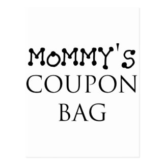 MOMMY'S COUON BAG.png Postcard