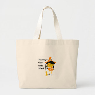 Mommy's Cute Little Witch Jumbo Tote Bag