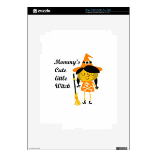 Mommy's Cute Little Witch iPad 2 Skins