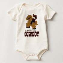 Mommy's Cutest Cowboy Baby Bodysuit