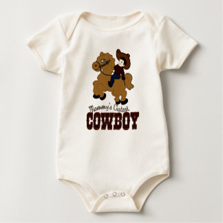 Mommy's Cutest Cowboy Baby Creeper