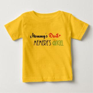 Mommy's Devil, Memere's Angel Baby T-Shirt