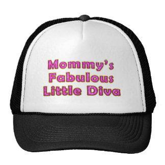 Mommy's Fabulous Little Diva Mesh Hats