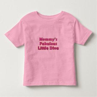 Mommy's Fabulous Little Diva Toddler T-shirt