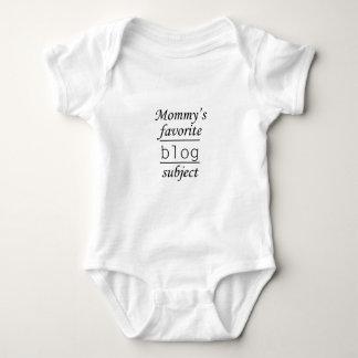 Mommy's favorite blog subject baby bodysuit