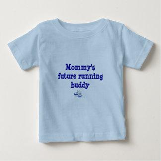 Mommy's Future Running Buddy Baby T-Shirt