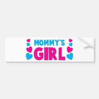 Mommy's Girl Bumper Sticker