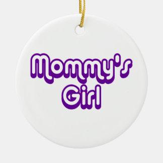 Mommy's Girl Ceramic Ornament