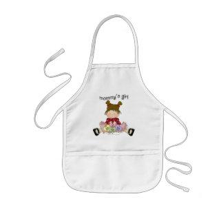♥ mommy's girl ♥ girly giggles kids' apron