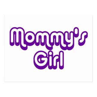 Mommy's Girl Postcard