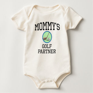 Mommy's Golf Partner Baby Bodysuit