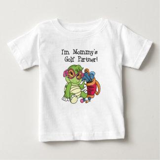 Mommy's Golf Partner Baby T-Shirt