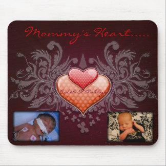 Mommy's Heart Mousepad