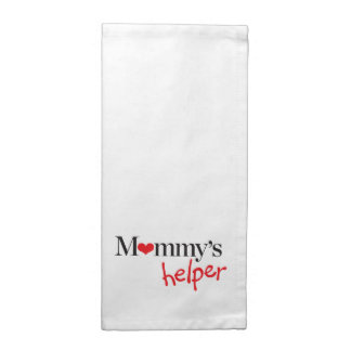 Mommy's Helper Printed Napkins