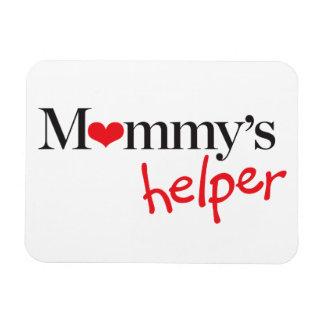 Mommy's Helper Rectangular Photo Magnet