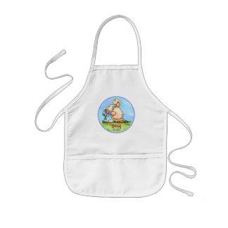 Mommy's Hunny Bunny apron