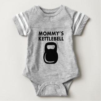 Mommy's Kettlebell Baby Bodysuit