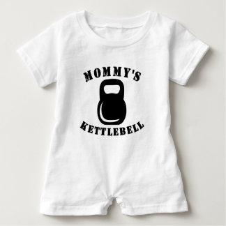 Mommy's Kettlebell Baby Romper