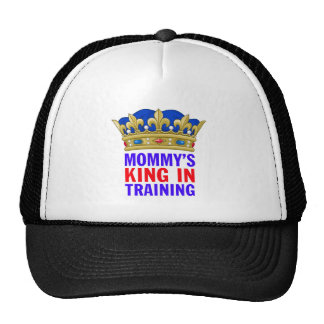 Mommy's King in Training Trucker Hat