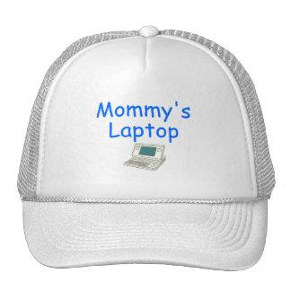 Mommy's Laptop (blue) Trucker Hat