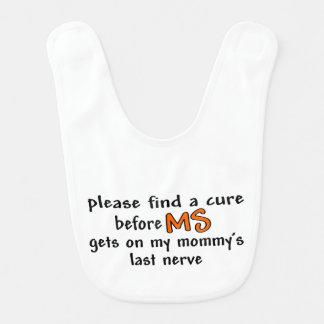 Mommy's Last Nerve Baby Bib Baby Bib