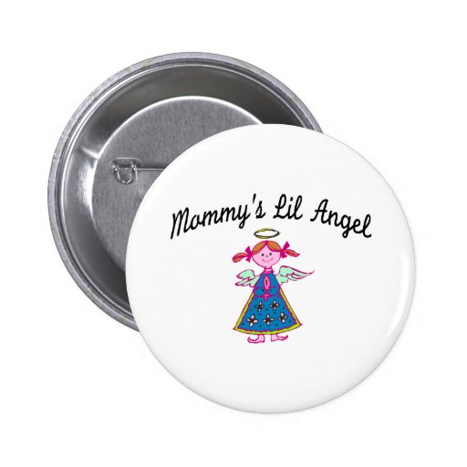 Mommy's Lil Angel Buttons