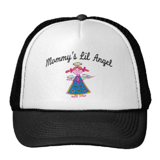Mommy's Lil Angel Mesh Hats