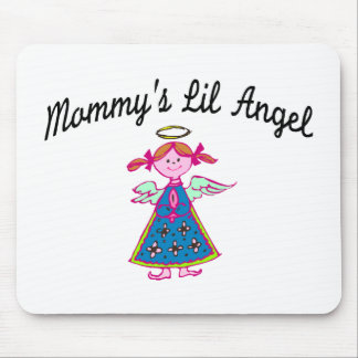 Mommy's Lil Angel Mouse Pad