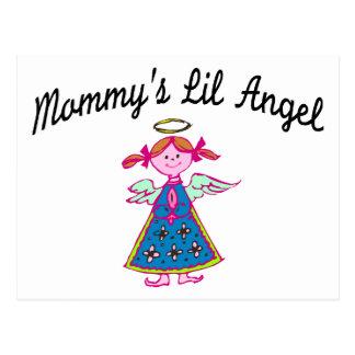 Mommy's Lil Angel Postcard