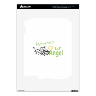 MOMMYS LIL ANGEL iPad 3 DECAL