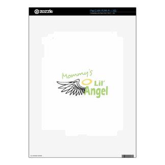MOMMYS LIL ANGEL iPad 2 SKIN