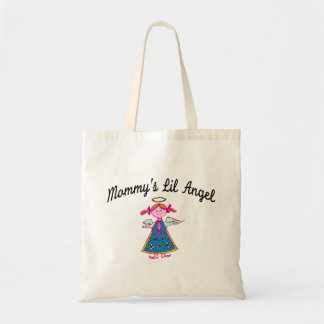 Mommy's Lil Angel Tote Bags