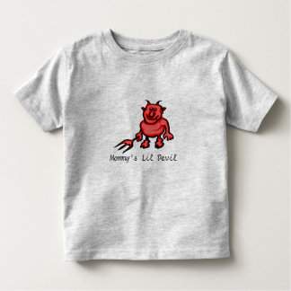 Mommy's Lil Devil Toddler T-shirt