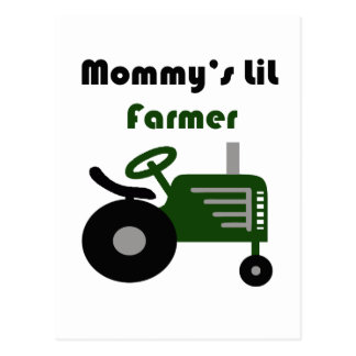 Mommy's Lil Farmer Postcard