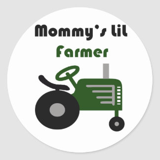 Mommy's Lil Farmer Stickers