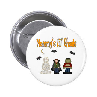 MOMMY'S Lil Ghouls (TRIPLETS) Pin