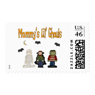 MOMMY'S Lil Ghouls (TRIPLETS) Postage Stamps